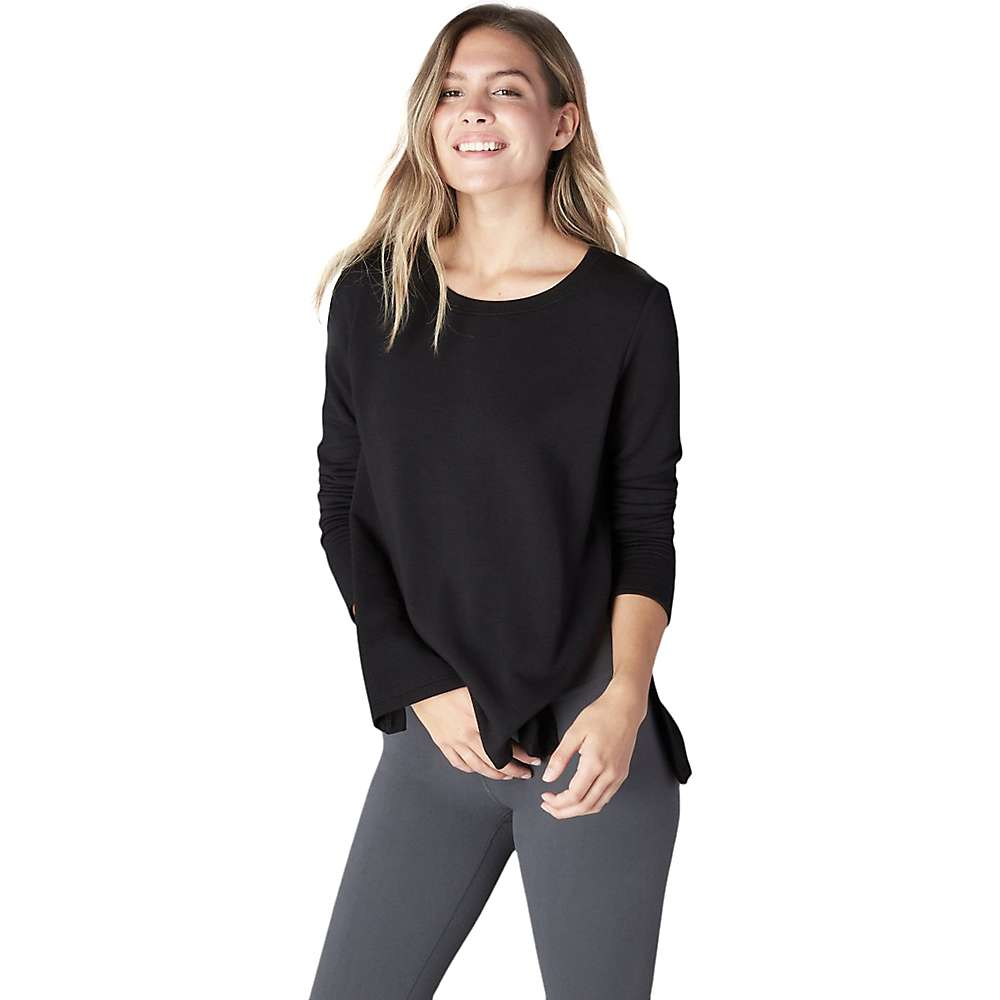 Beyond Yoga Women's Come Together Pullover Top - Large - Black