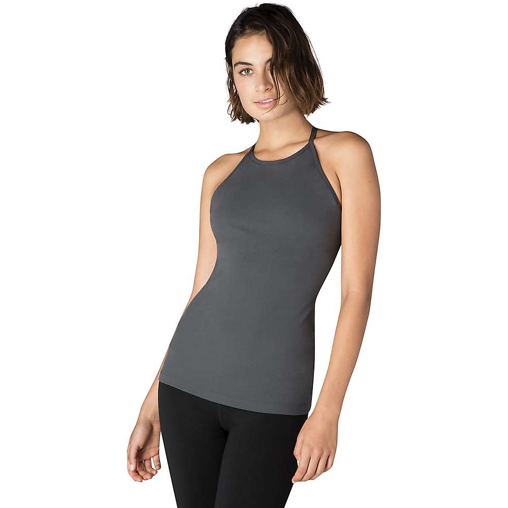 Beyond Yoga Women's Opening Night Tank Top - Medium - Grey & Stormy