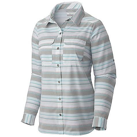 Columbia Women's Pilsner Peak Stripe LS Shirt