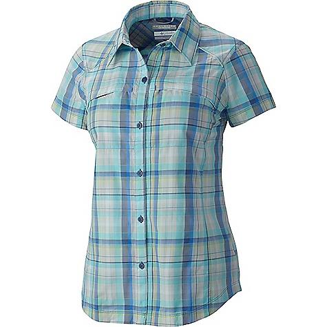 Columbia Women's Silver Ridge Multi Plaid SS Shirt