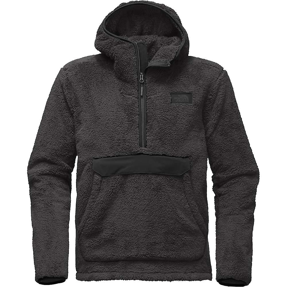The North Face Men's Campshire Pullover Hoodie - XL - Asphalt Grey / TNF Black