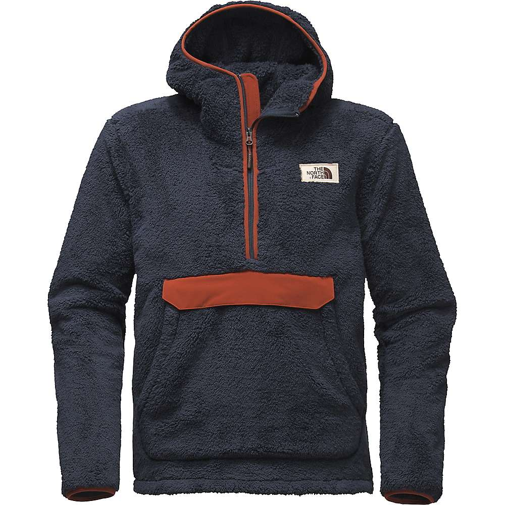 The North Face Men's Campshire Pullover Hoodie - XXL - Urban Navy / Brandy Brown