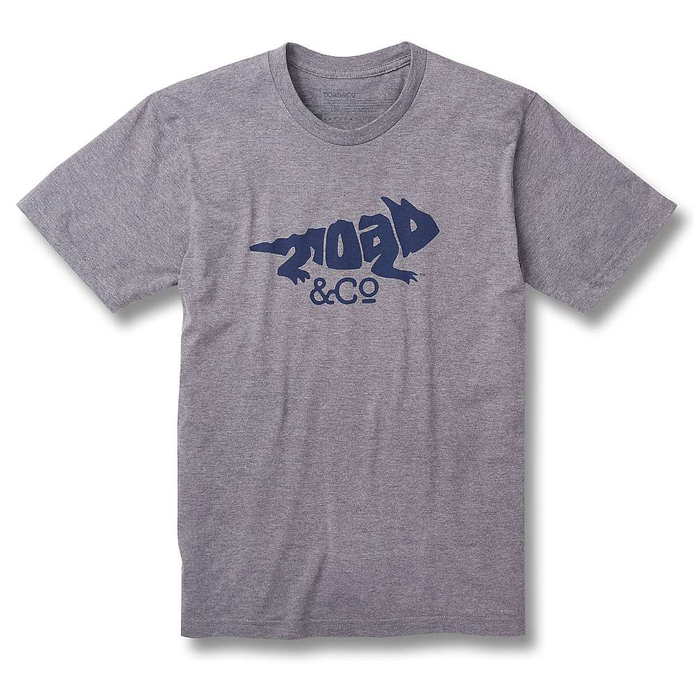 Toad & Co Imbedded Toad SS Tee - Gray Heather