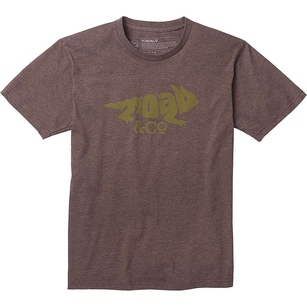 Toad & Co Imbedded Toad SS Tee - Turkish Coffee Heather