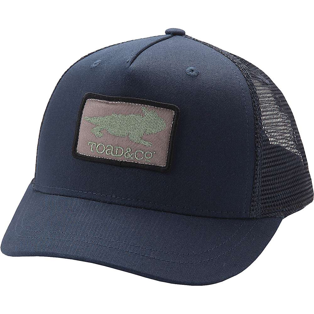 Toad & Co Toad Logo Patch Trucker Hat