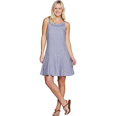 Toad & Co Windsong Strappy Dress - Deepwater Diamond Print