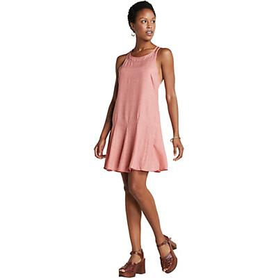 Toad & Co Windsong Strappy Dress - Guava Diamond Print