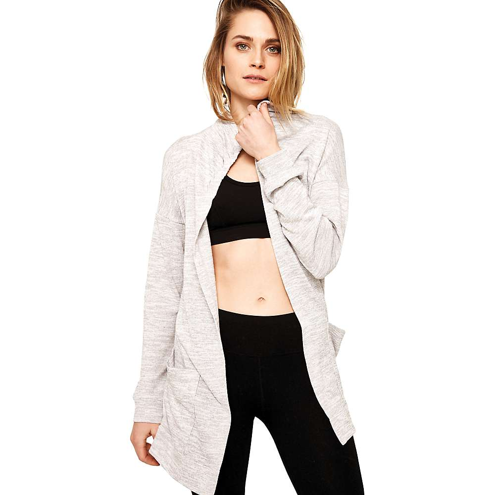 Lole Women's Caissy Cardigan - Medium - Medium Grey Heather