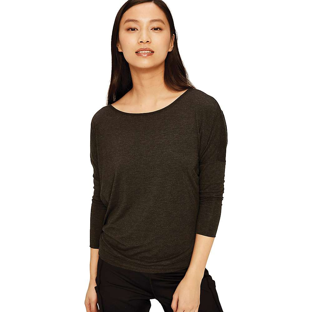 Lole Women's Elisia Top - Large - Black Heather