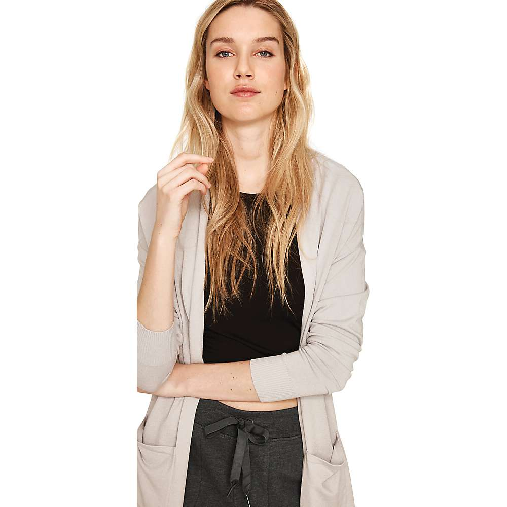 Lole Women's Marnie Cardigan - Medium - Light Grey Heather