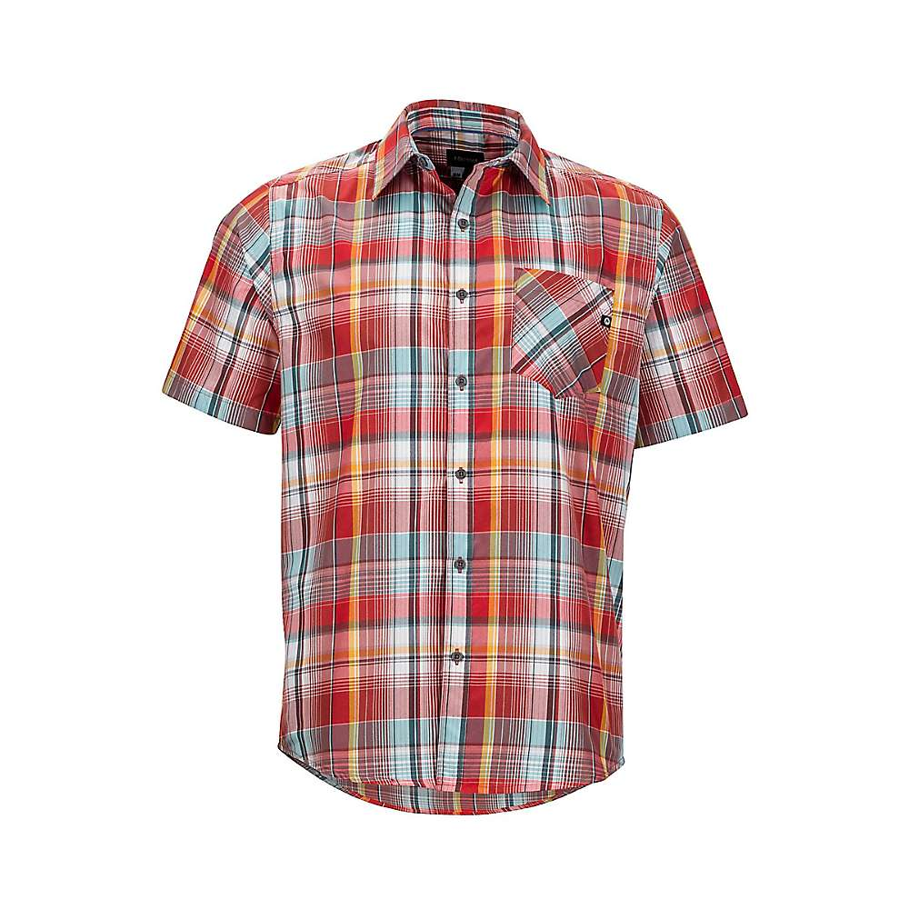 Marmot Men's Echo SS Shirt - Large - Retro Red