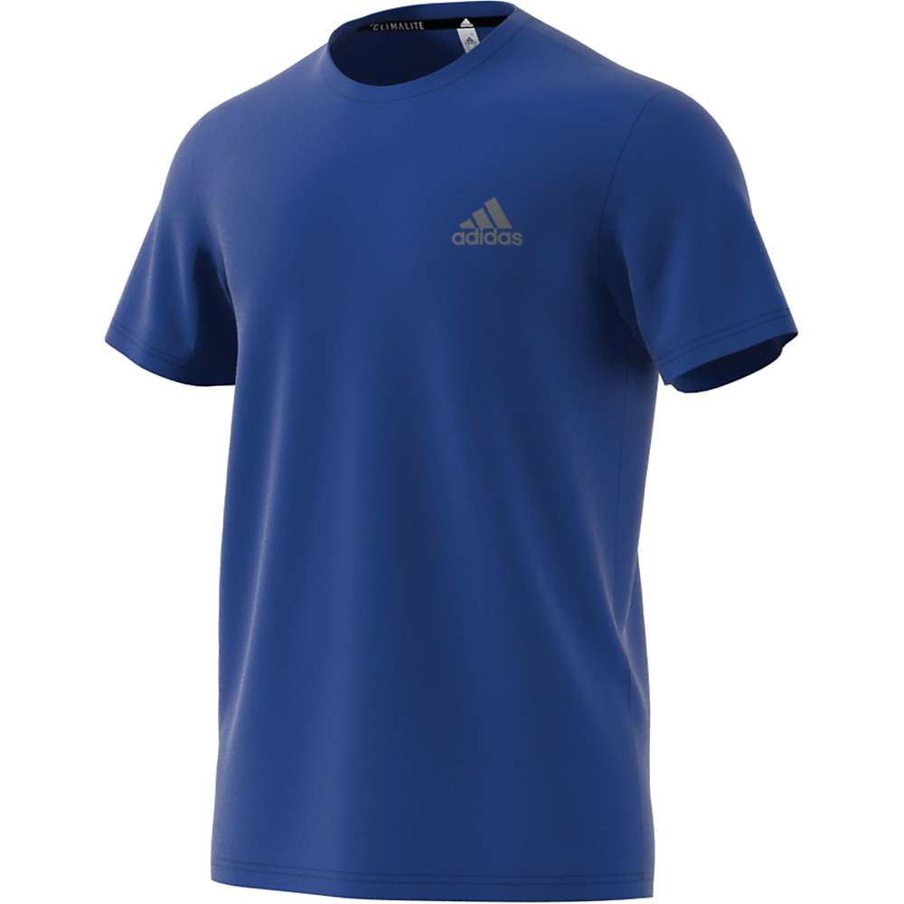 Adidas Men's Essentials Tech SS Tee - Small - Col. Royal / Col. Royal