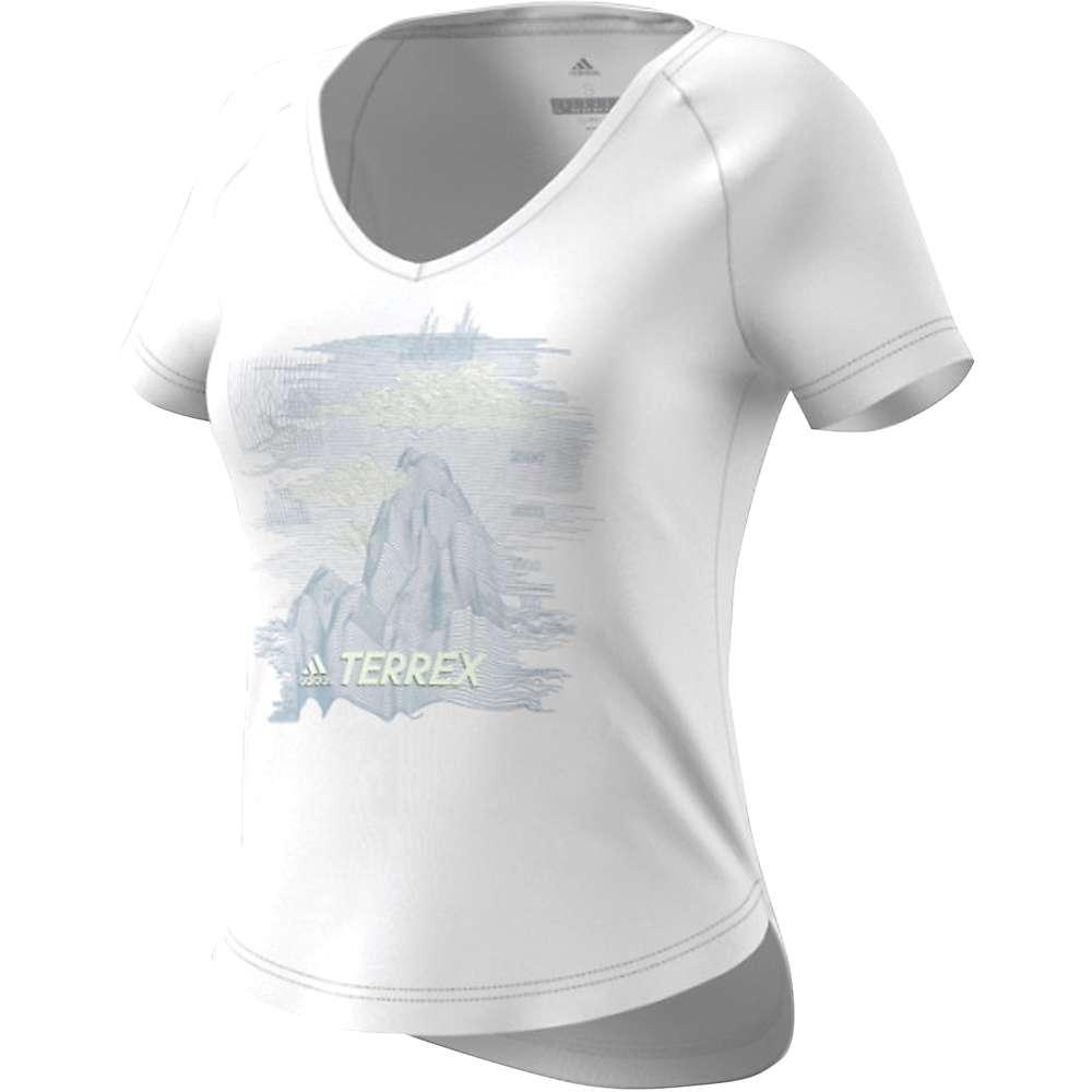 Adidas Women's Mountain Tee - Medium - White