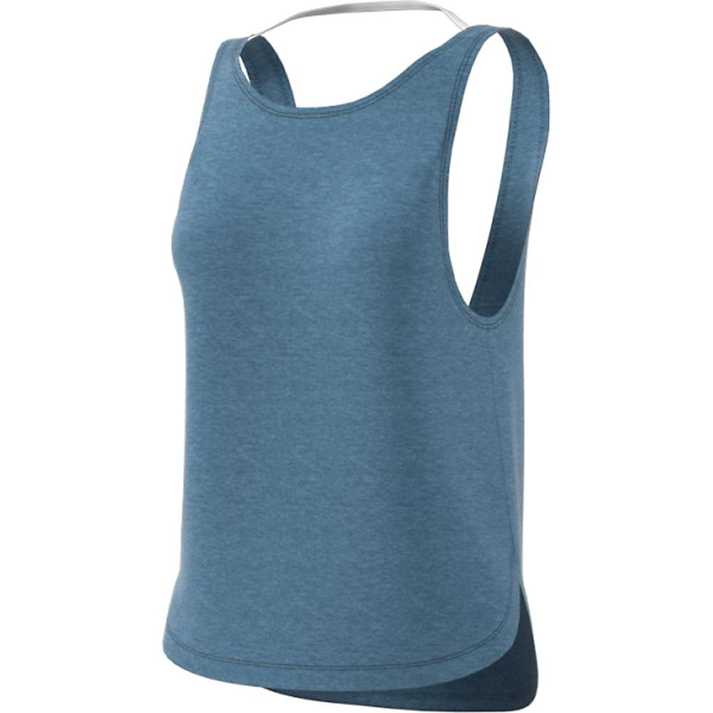 Adidas Women's Prime Low Back Tank - Medium - Raw Grey