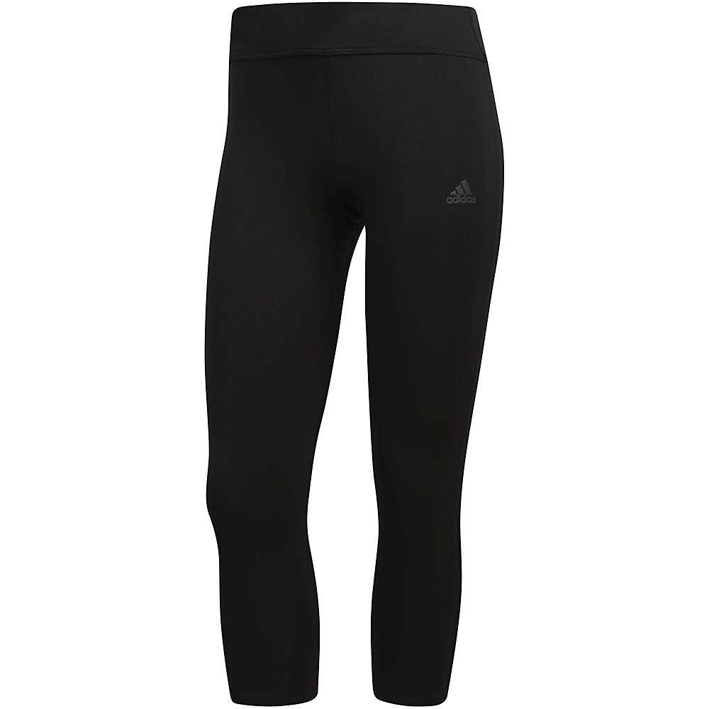 Adidas Women's Response 3/4 Tight - Medium - Black / Black