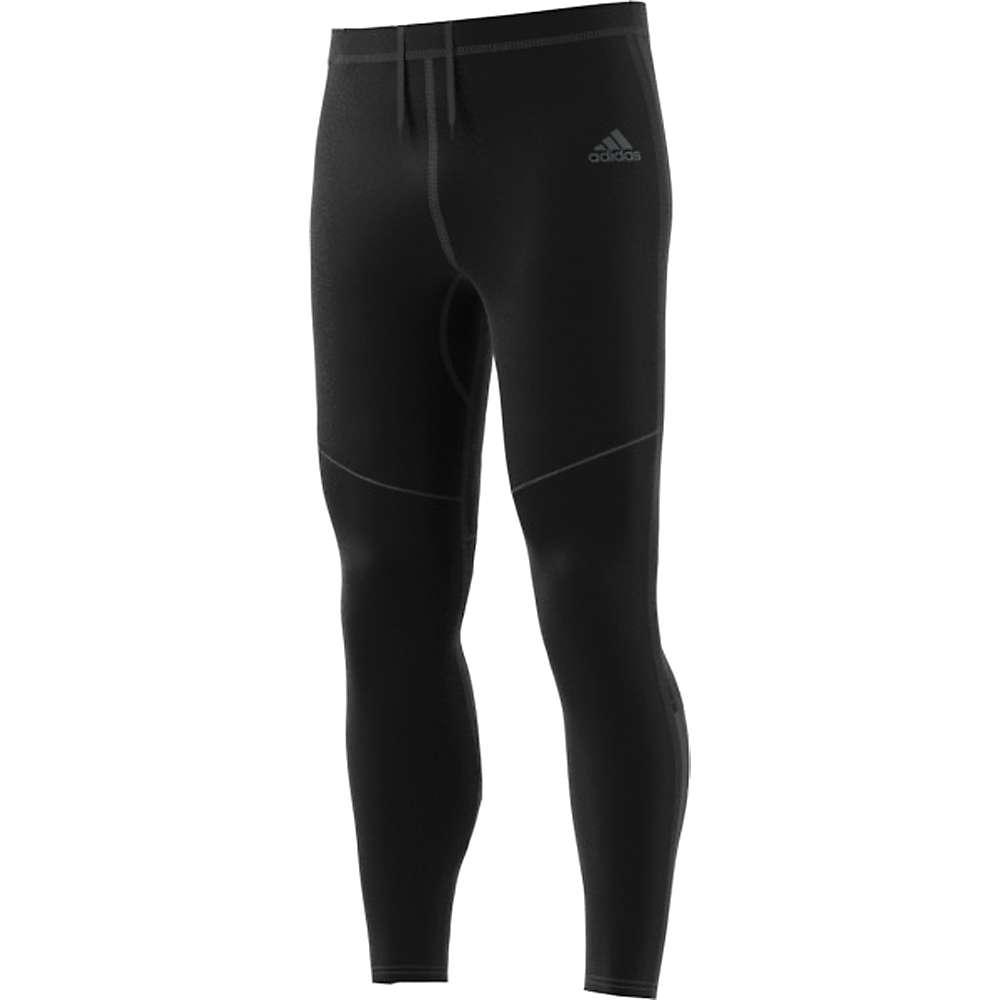 Adidas Men's Response Long Tight - Large - Black / Black