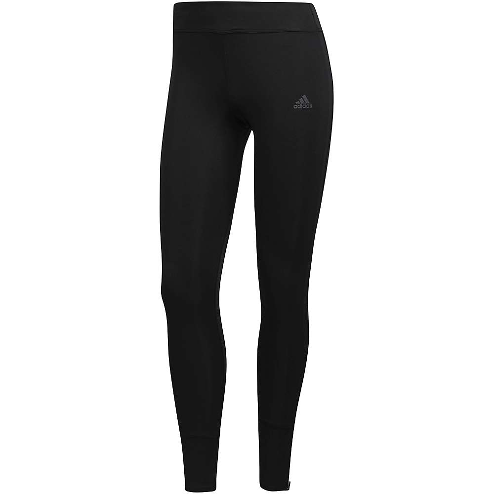 Adidas Women's Response Long Tight - Large - Black / Black