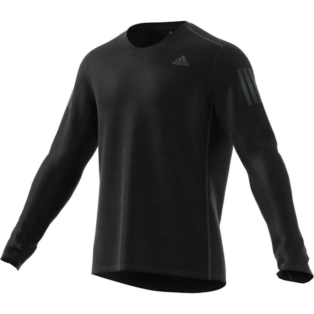 Adidas Men's Response LS Tee - Small - Black