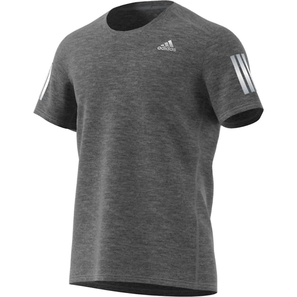 Adidas Men's Response Soft Tee - Large - Dark Grey Heather