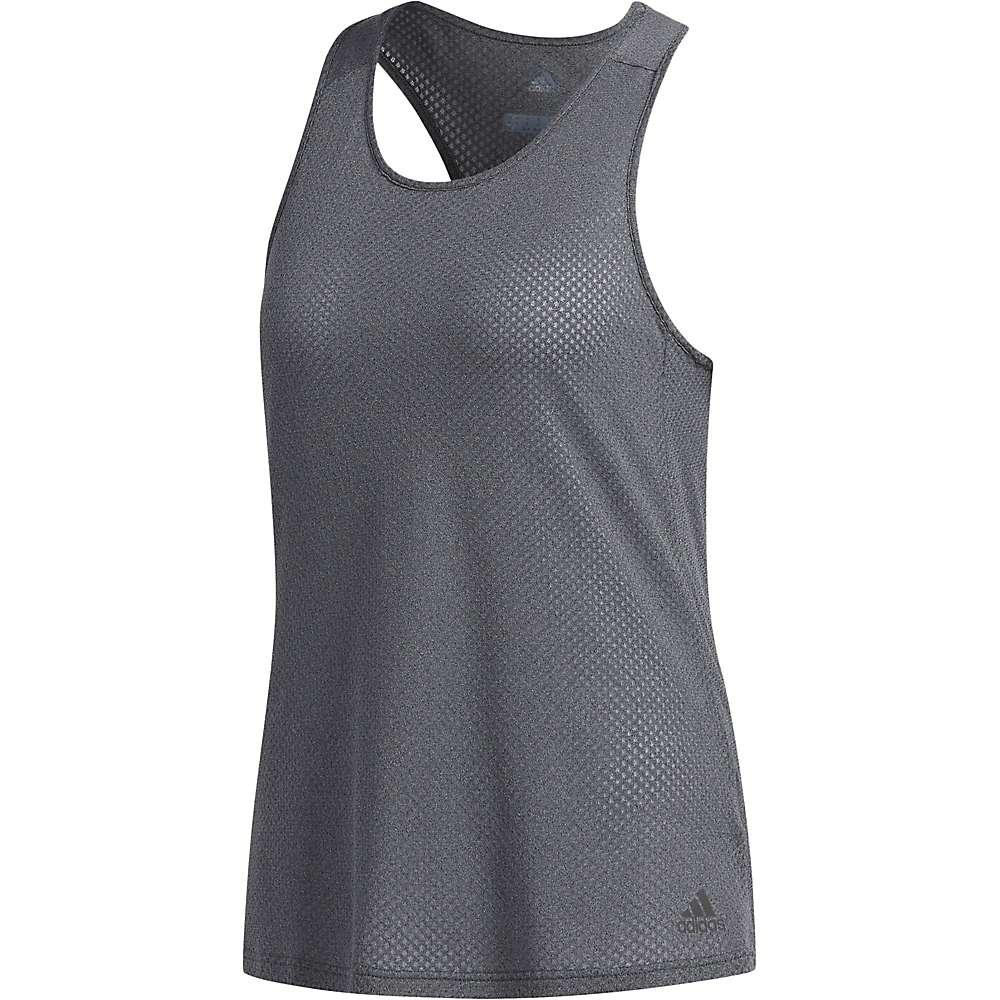 Adidas Women's Response Tank - Small - Dark Grey Heather