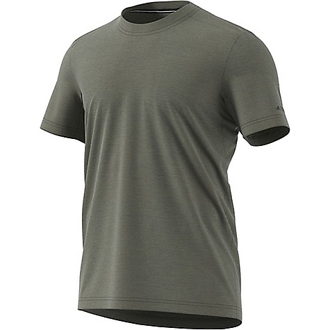 Adidas Men's Tivid Tee Trace Cargo Adidas Men's Tivid Tee - Trace Cargo - in stock now. FEATURES of the Adidas Men's Tivid Tee Climalite: soft, lightweight fabric for superior moisture management Reflective elements: for enhanced visibility and safety in the outdoors