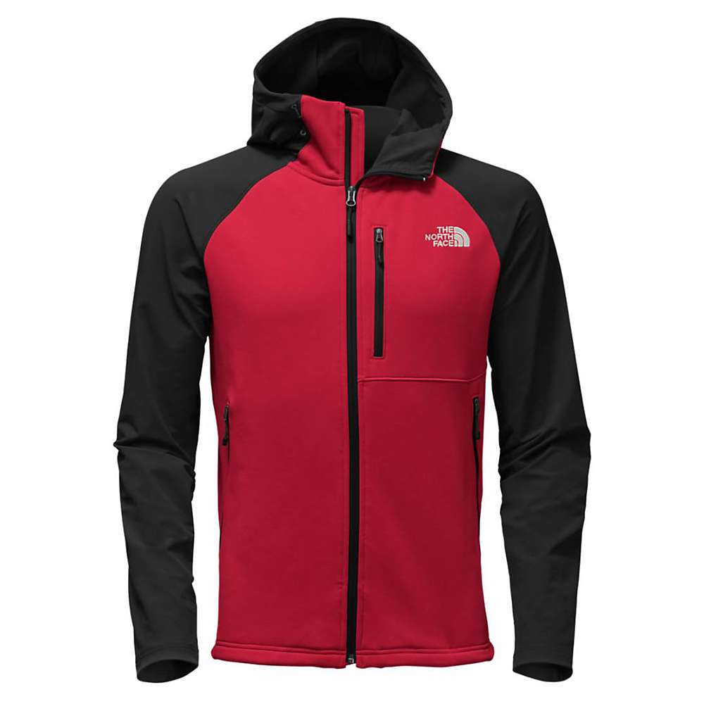 The North Face Men's Tenacious Hybrid Hoodie - XXL - High Risk Red / TNF Black