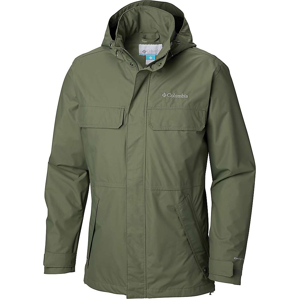 Columbia Men's Dr. Downpour II Jacket - Large - Cypress
