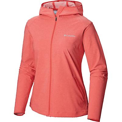 Columbia Heather Canyon Softshell Jacket - Red Coral Heather - Women