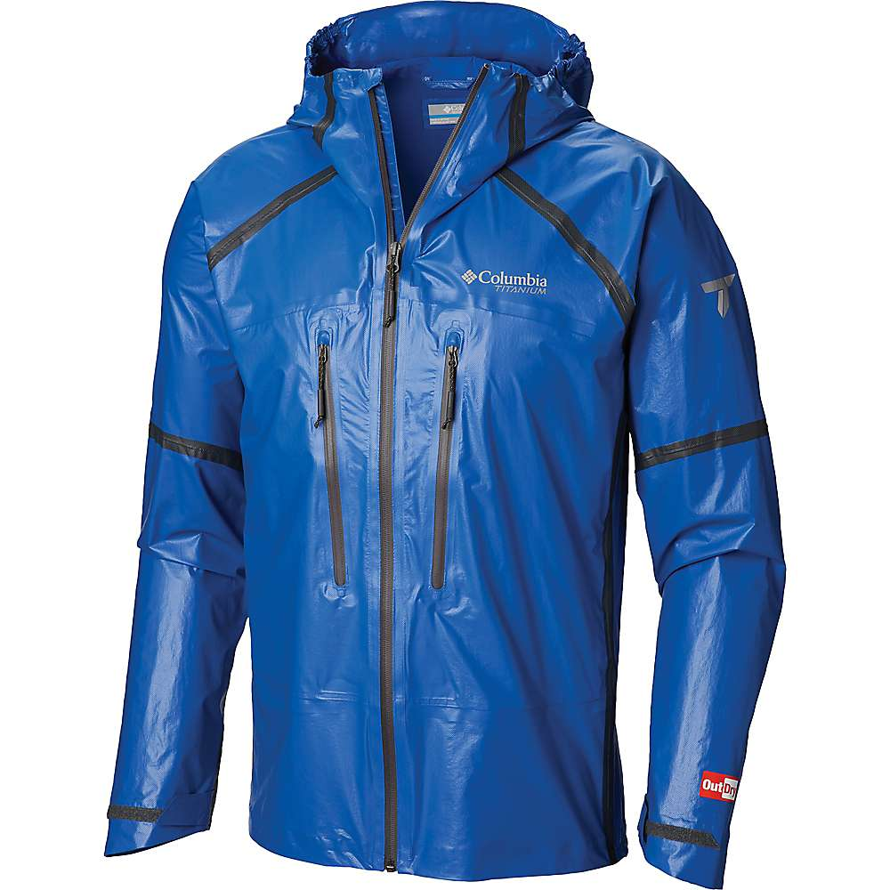 Columbia Men's OutDry EX Featherweight Shell Jacket - Large - Azul