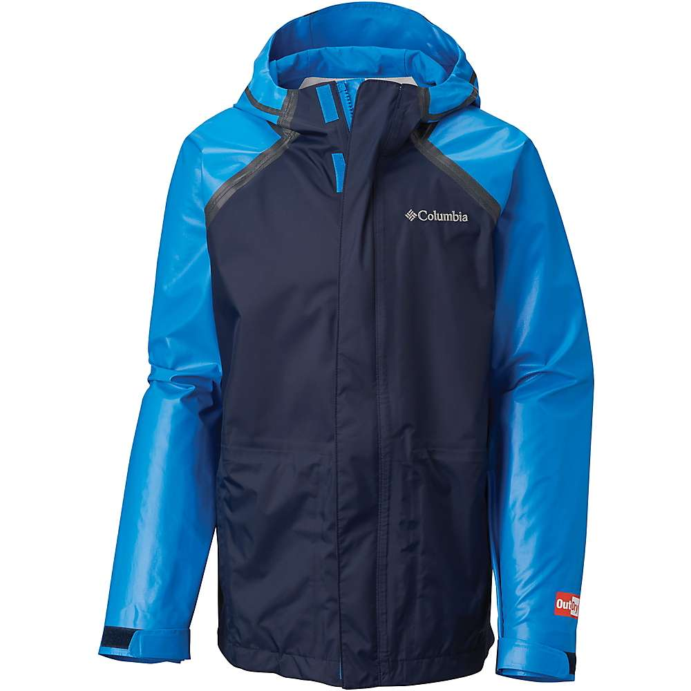 Columbia Youth OutDry Hybrid Jacket - XS - Super Blue / Collegiate Navy
