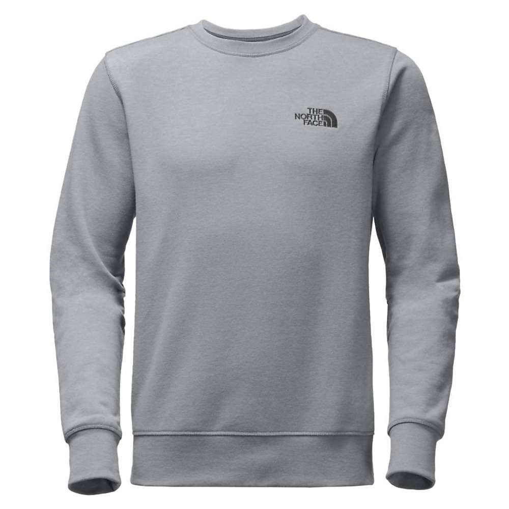 The North Face Men's French Terry Crew - Medium - TNF Medium Grey Heather