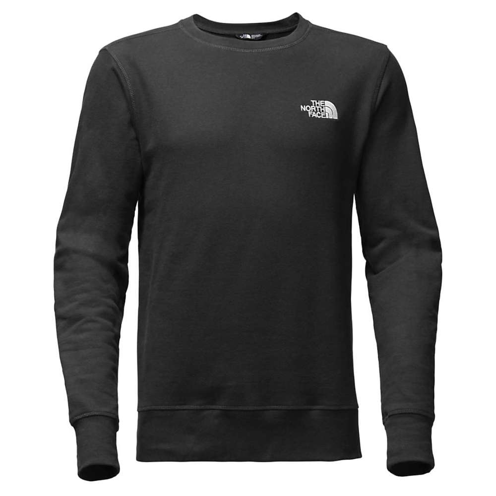 The North Face Men's French Terry Crew - Large - Weathered Black