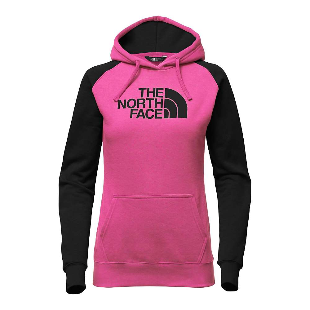 The North Face Women's Half Dome Hoodie - XL - Raspberry Red / TNF Black