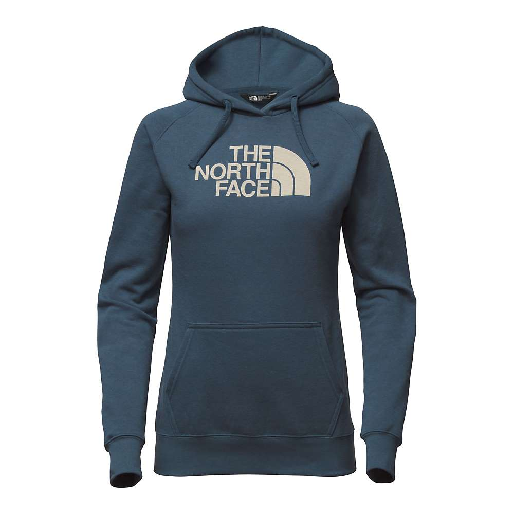 The North Face Women's Half Dome Hoodie - XL - Blue Wing Teal / Vintage White