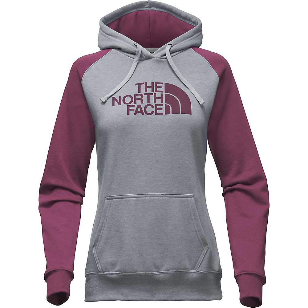 The North Face Women's Half Dome Hoodie - XXL - TNF Medium Grey Heather / Crushed Violets