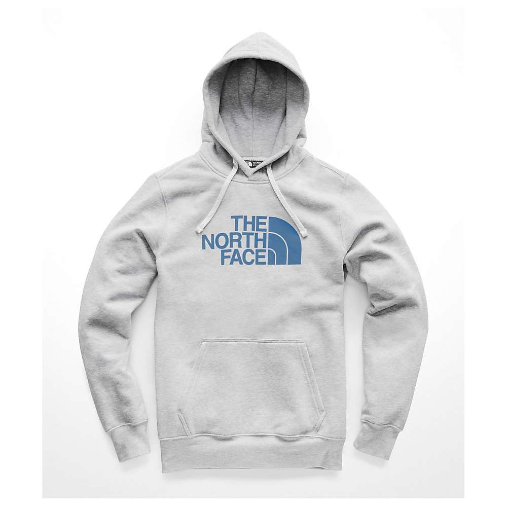The North Face Men's Half Dome Pullover Hoodie - Small - TNF Light Grey Heather / Dish Blue