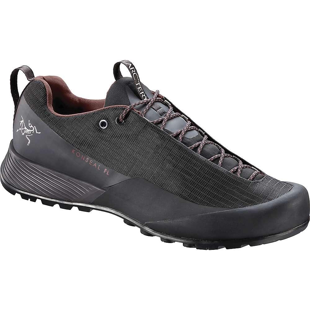 Cheap Arcteryx Womens Konseal FL GTX Shoe - 9.5 - Carbon Copy / Inertia