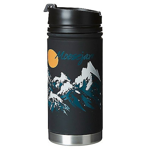 Moosejaw Mizu Two Tickets to Paradise 15 oz. Insulated Stainless Steel Bottle with Cafe Cap 4118836