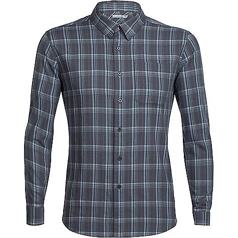 Icebreaker Men's Compass Flannel LS Shirt 4123032