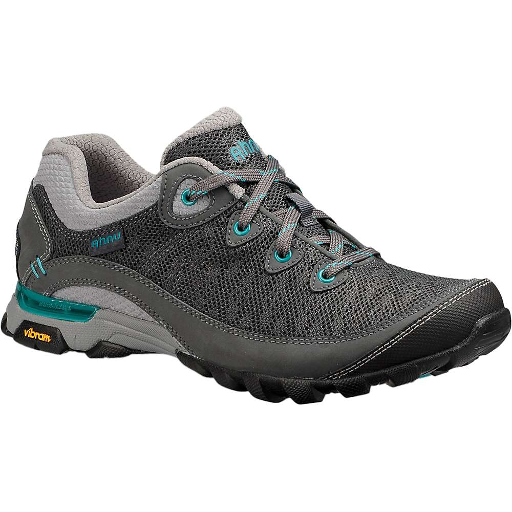 Ahnu by Teva Women's Sugarpine II Air Mesh Shoe - 6 - Dark Shadow