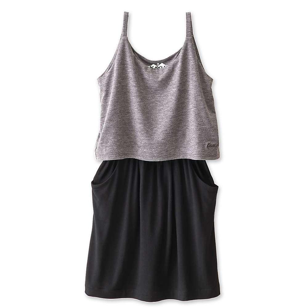 KAVU Youth Little Coco Dress - Charcoal