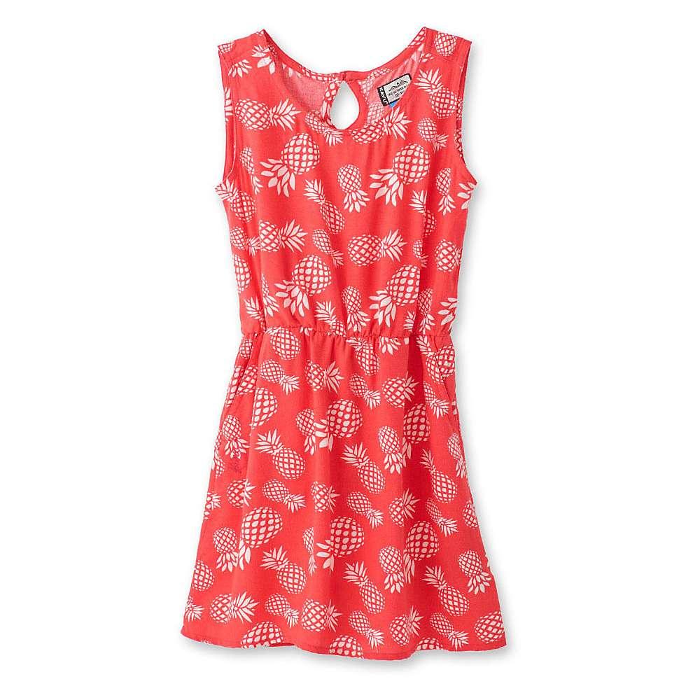 KAVU Youth Mini Simone Dress - Large - Pineapple Spice