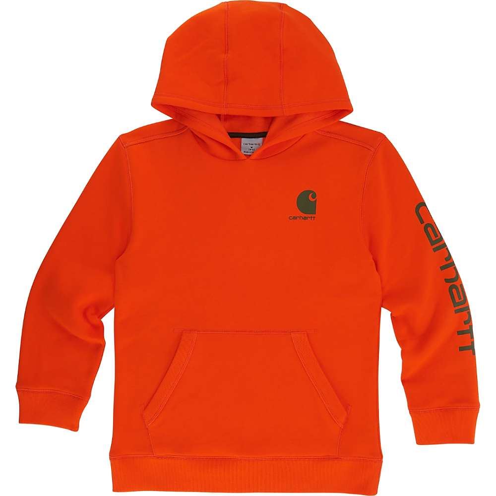 Carhartt Kids' Signature Carhartt Sweatshirt - 5 - Blaze Orange thumbnail