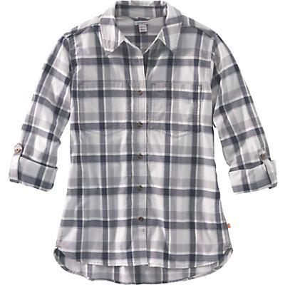 Carhartt Fairview Plaid Shirt - Asphalt - Women