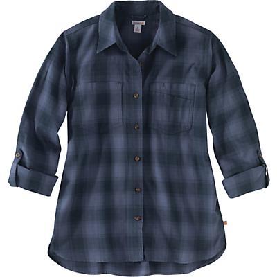Carhartt Fairview Plaid Shirt - Twilight - Women