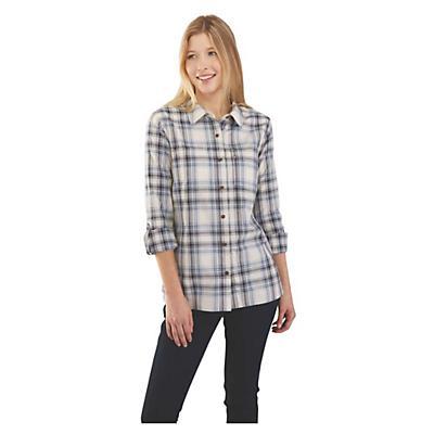 Carhartt Fairview Plaid Shirt - Steel Blue - Women
