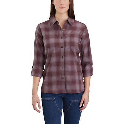 Carhartt Fairview Plaid Shirt - Dark Cedar - Women