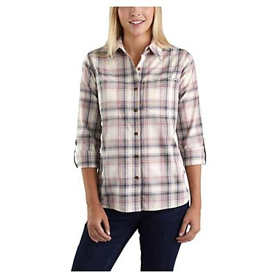 Carhartt Fairview Plaid Shirt - Bluestone - Women