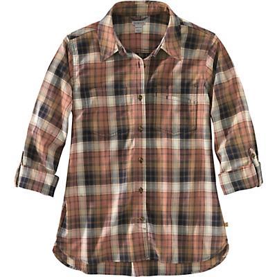 Carhartt Fairview Plaid Shirt - Carhartt Brown - Women