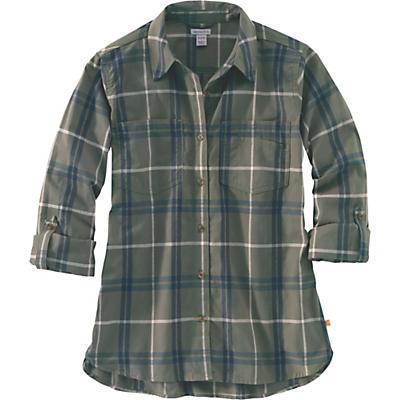 Carhartt Fairview Plaid Shirt - Grape Leaf - Women